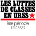 Class Struggles in the USSR